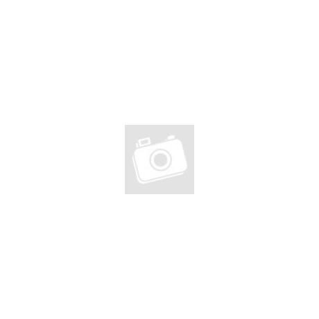 Fedeles etető tányér kanállal- kék