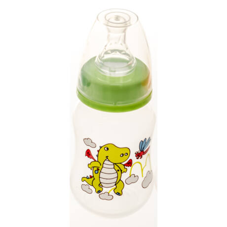 Babybruin 125 ml PP cumisüveg karcsúsított- zöld
