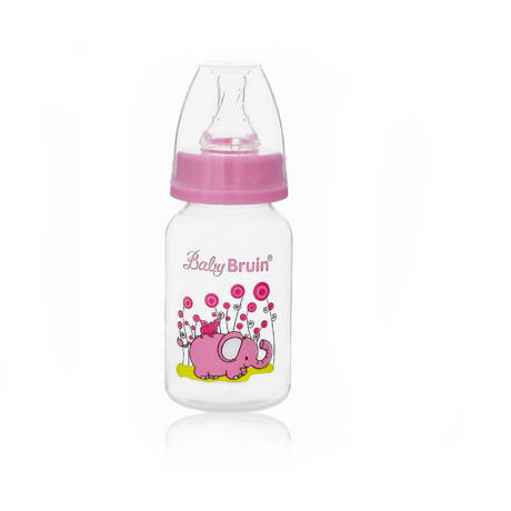 120 ml PP cumisüveg- rózsaszín