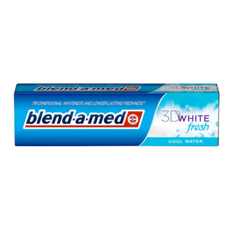 Blend-a-med 3D White Fresh Cool Water fogkrém 100ml