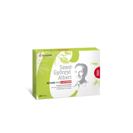 Szent-Györgyi Albert Retard 500 mg C-vitamin tabletta 20x