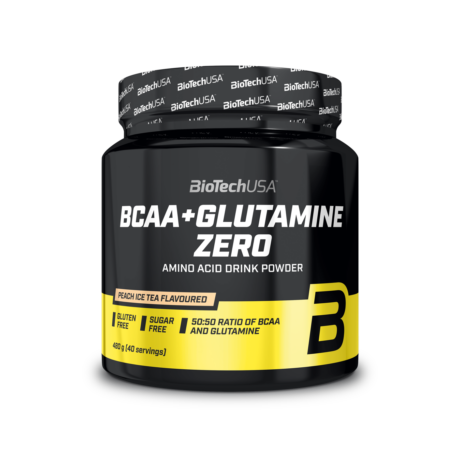 BCAA+Glutamine Zero narancs 480 g
