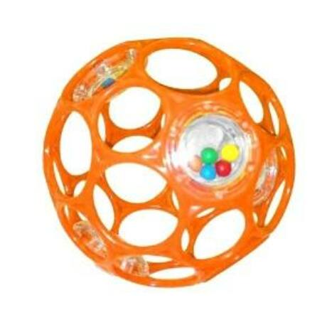 BS OBALL RATTLE játék 10 cm Narancs