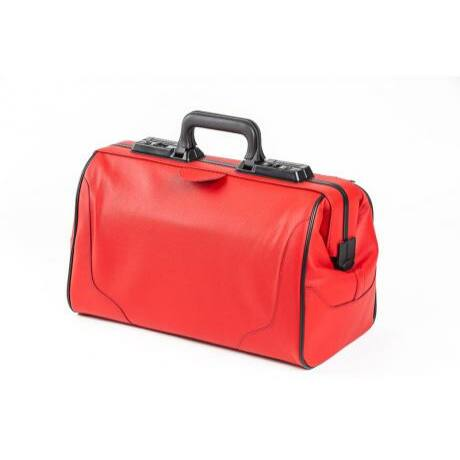 Dürasol Rusticana Cross - Special Edition - piros, 1 külső zsebbel