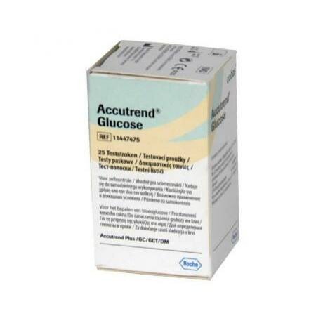 Accutrend Glucose 25x tesztcsík