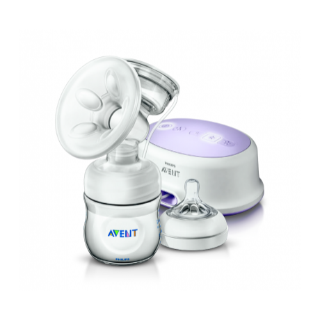 Philips Avent Natural elektromos mellszívó + tartozékok 0% BPA   - SCF332/01