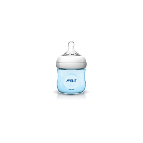 Philips Avent Natural cumisüveg PP 125 ml  BPA nélkül BLUE - SCF692/17
