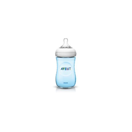 Philips Avent Natural cumisüveg PP 260 ml BPA nélkül BLUE - SCF695/17