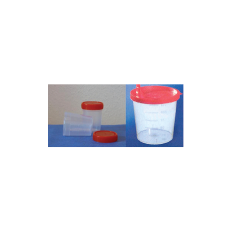 Vizeletes pohár csavaros fedővel, 250 db