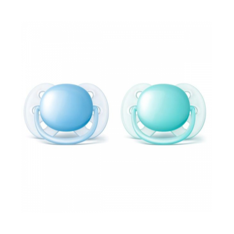 Philips Avent Ultrasoft játszócumi - 0-6hó 2db