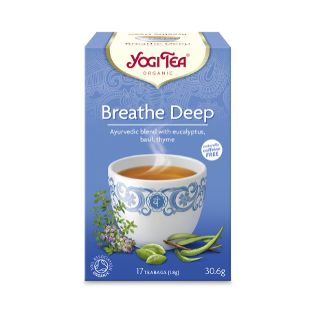 Yogi tea bio mély lélegzet 17x