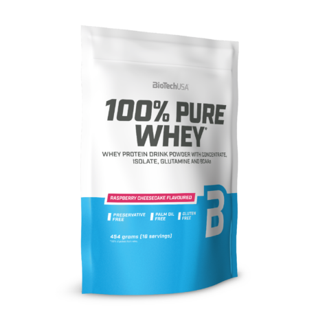 100% Pure Whey málnás sajttorta 454 g