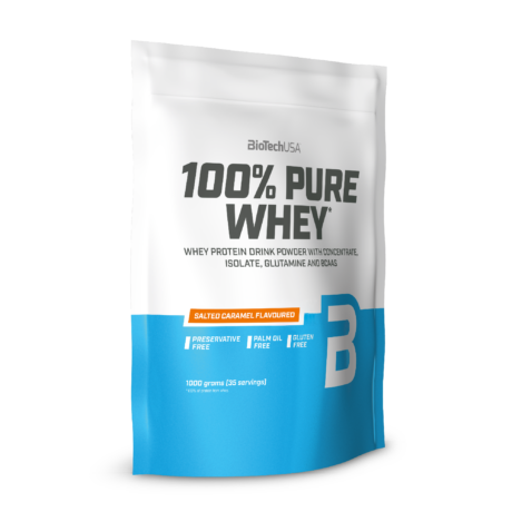 100% Pure Whey sós karamell 1000 g